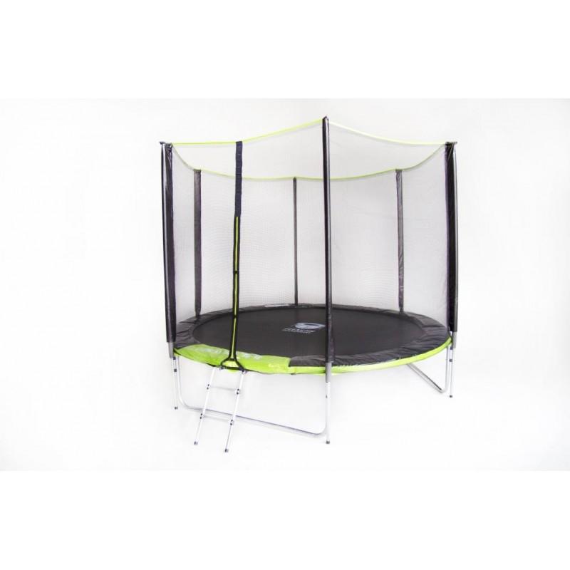 Батут Fitness Trampoline Green 252 см - 8ft extreme