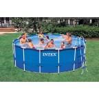 Каркасный бассейн Intex Metal Frame 457х122