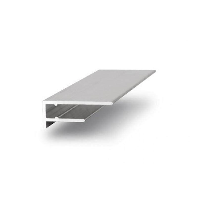 Алюминиевый торцевой профиль 10 мм