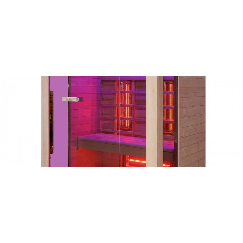 Инфракрасная сауна Wellis Solaris hemlock